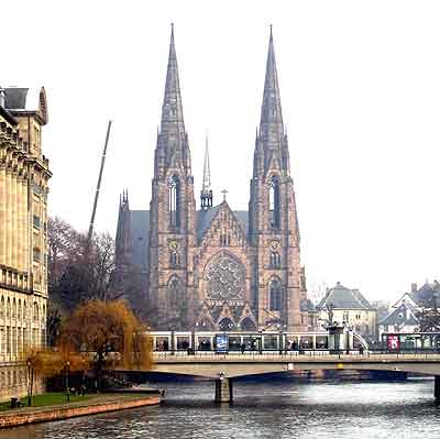 le temple St Paul � Strasbourg