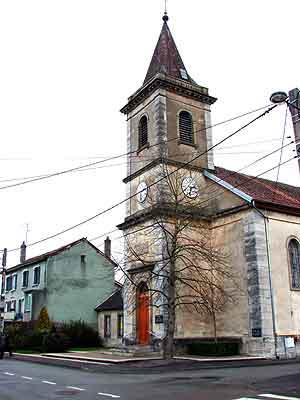 église luthérienne de Mandeure